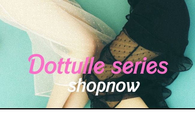 dot tulle skirt onepiece