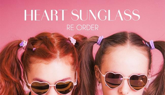 re arrivals heart sunglasses